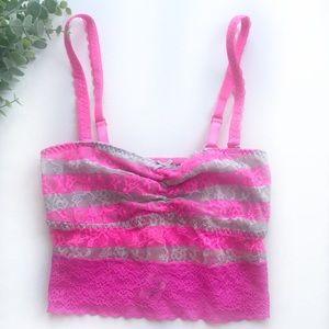 Victoria's Secret | VS Lace Tank Bralette New XS